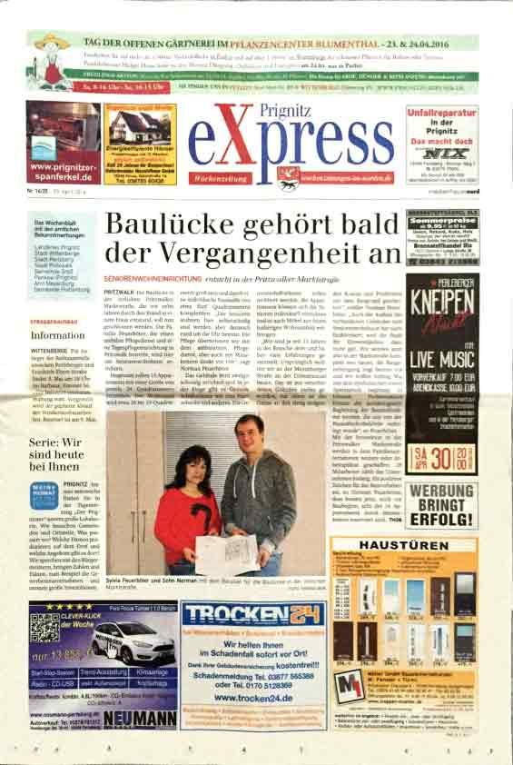 Prignitz Express Zeitung